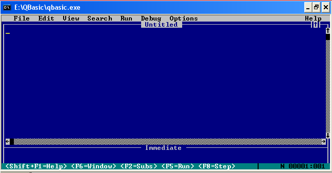Qb64 is the qbasic compiler project by galleon and has an active forum of beta testers